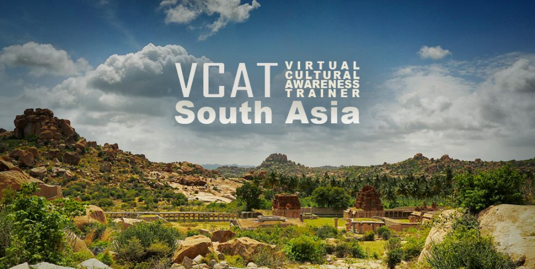 VCAT South Asia splash screen
