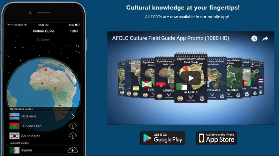 Air Force Culture and Language Center app